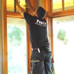 Joe installing at M. Rich