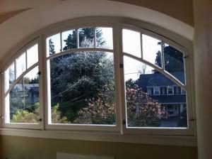 Window After SunTek Ultra Vision 50 Window Film is applied