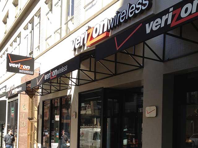 image of Solar Window Film for Verizon Wireless store